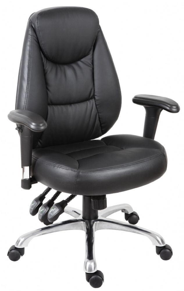 TEKNIK PORTLAND Faux Leather Operating Chair